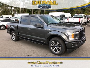 2019 Magnetic Metallic Ford F-150 XL EcoBoost 2.7L V6 GTDi DOHC 24V Twin Turbocharged Engine 4 Door Truck Automatic