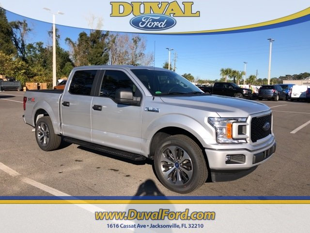2019 Ingot Silver Metallic Ford F-150 XL Automatic EcoBoost 2.7L V6 GTDi DOHC 24V Twin Turbocharged Engine Truck