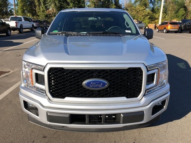 2019 Ingot Silver Metallic Ford F-150 XL EcoBoost 2.7L V6 GTDi DOHC 24V Twin Turbocharged Engine Truck RWD 4 Door Automatic