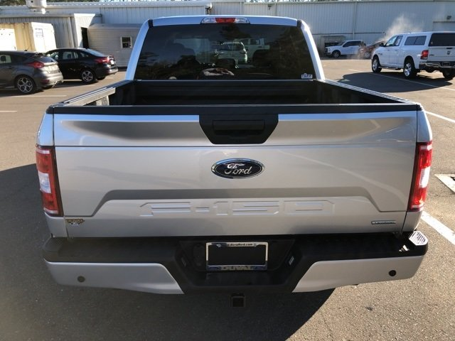 2019 Ingot Silver Metallic Ford F-150 XL Truck Automatic RWD 4 Door EcoBoost 2.7L V6 GTDi DOHC 24V Twin Turbocharged Engine