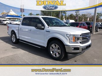 2019 Oxford White Ford F-150 XLT EcoBoost 2.7L V6 GTDi DOHC 24V Twin Turbocharged Engine Truck 4 Door Automatic RWD