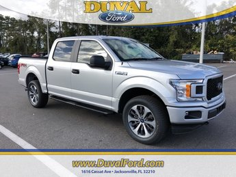 2019 Ingot Silver Metallic Ford F-150 XL 4 Door EcoBoost 3.5L V6 GTDi DOHC 24V Twin Turbocharged Engine Automatic 4X4 Truck
