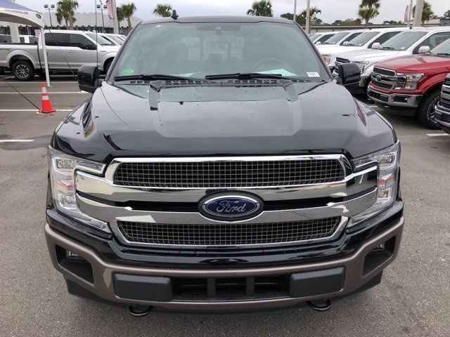 2019 Agate Black Metallic Ford F-150 King Ranch Automatic EcoBoost 3.5L V6 GTDi DOHC 24V Twin Turbocharged Engine Truck 4 Door 4X4