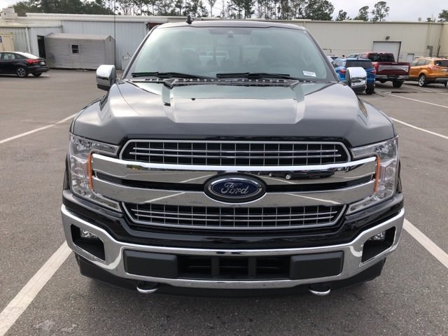 2019 Agate Black Metallic Ford F-150 Lariat 4X4 Automatic Truck