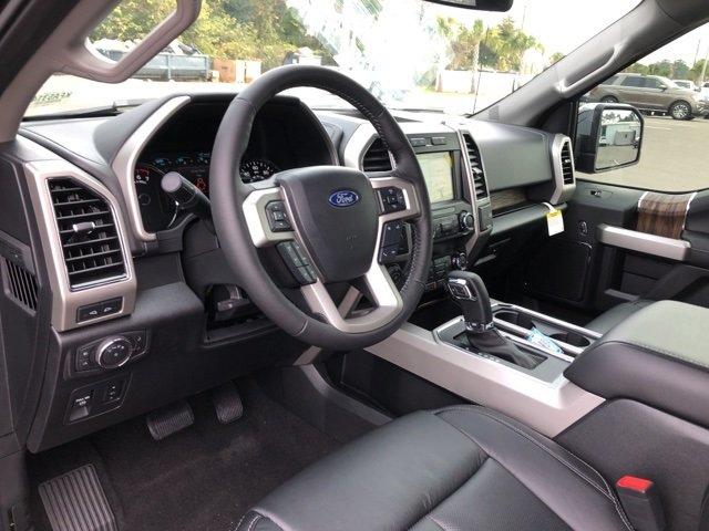 2019 Ford F-150 Lariat EcoBoost 3.5L V6 GTDi DOHC 24V Twin Turbocharged Engine 4 Door 4X4 Truck