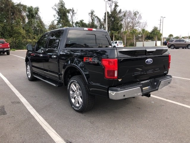 2019 Agate Black Metallic Ford F-150 Lariat EcoBoost 3.5L V6 GTDi DOHC 24V Twin Turbocharged Engine 4 Door 4X4 Automatic