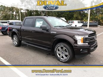 2019 Magma Red Metallic Ford F-150 XLT Truck 4 Door EcoBoost 3.5L V6 GTDi DOHC 24V Twin Turbocharged Engine Automatic 4X4