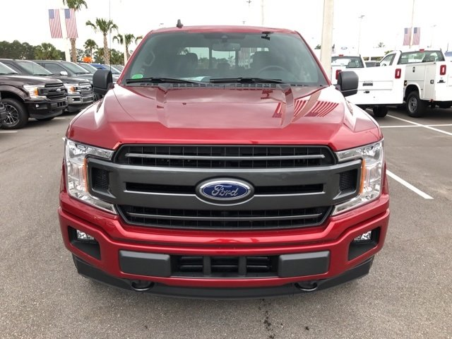 2019 Ruby Red Metallic Tinted Clearcoat Ford F-150 XLT Automatic EcoBoost 3.5L V6 GTDi DOHC 24V Twin Turbocharged Engine 4 Door 4X4