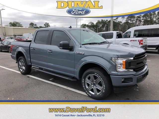 2019 Ford F-150 XLT EcoBoost 3.5L V6 GTDi DOHC 24V Twin Turbocharged Engine 4 Door 4X4 Truck