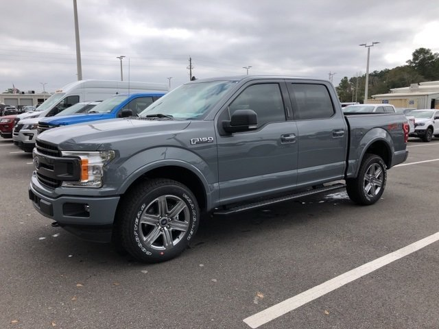 2019 Ford F-150 XLT EcoBoost 3.5L V6 GTDi DOHC 24V Twin Turbocharged Engine Automatic 4 Door 4X4