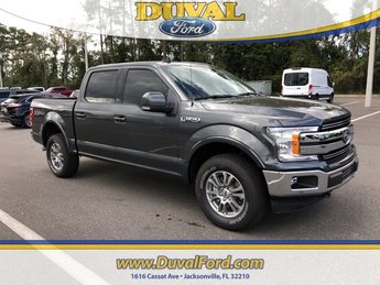 2019 Magnetic Metallic Ford F-150 Lariat 4X4 5.0L V8 Ti-VCT Engine Truck Automatic 4 Door