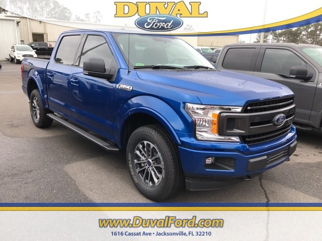 2018 Lightning Blue Ford F-150 XLT Automatic Truck 5.0L V8 Ti-VCT Engine