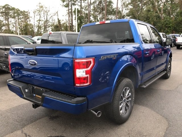 2018 Lightning Blue Ford F-150 XLT Automatic Truck 4X4