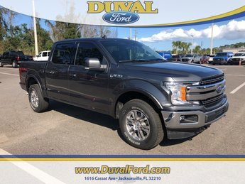 2019 Magnetic Metallic Ford F-150 Lariat 5.0L V8 Ti-VCT Engine Truck 4 Door Automatic 4X4