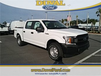 2018 Oxford White Ford F-150 XL Truck Automatic 4 Door