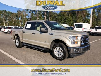 2017 White Gold Ford F-150 Truck 4 Door EcoBoost 3.5L V6 GTDi DOHC 24V Twin Turbocharged Engine