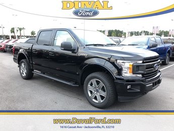 2018 Shadow Black Ford F-150 XLT 4 Door 4X4 Truck Automatic