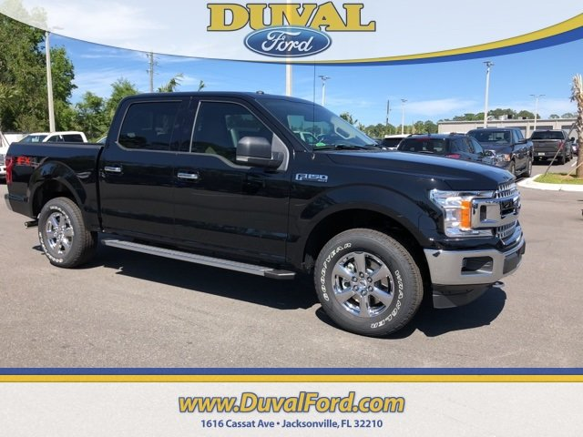 2018 Shadow Black Ford F-150 XLT EcoBoost 2.7L V6 GTDi DOHC 24V Twin Turbocharged Engine Truck Automatic 4 Door