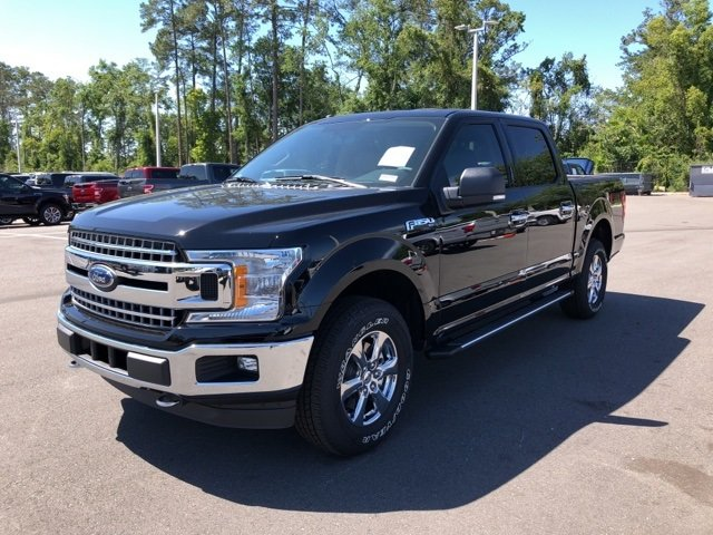 2018 Ford F-150 XLT EcoBoost 2.7L V6 GTDi DOHC 24V Twin Turbocharged Engine 4 Door Truck 4X4