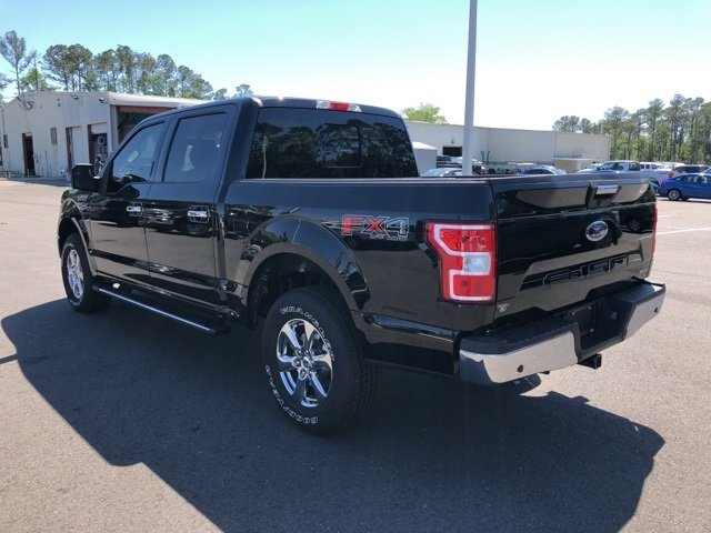 2018 Ford F-150 XLT EcoBoost 2.7L V6 GTDi DOHC 24V Twin Turbocharged Engine 4X4 Truck Automatic