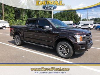 2018 Magma Red Metallic Ford F-150 XLT Automatic 4X4 4 Door Truck EcoBoost 2.7L V6 GTDi DOHC 24V Twin Turbocharged Engine