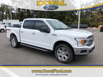 2019 Ford F-150 XLT 4 Door 4X4 Automatic EcoBoost 2.7L V6 GTDi DOHC 24V Twin Turbocharged Engine Truck