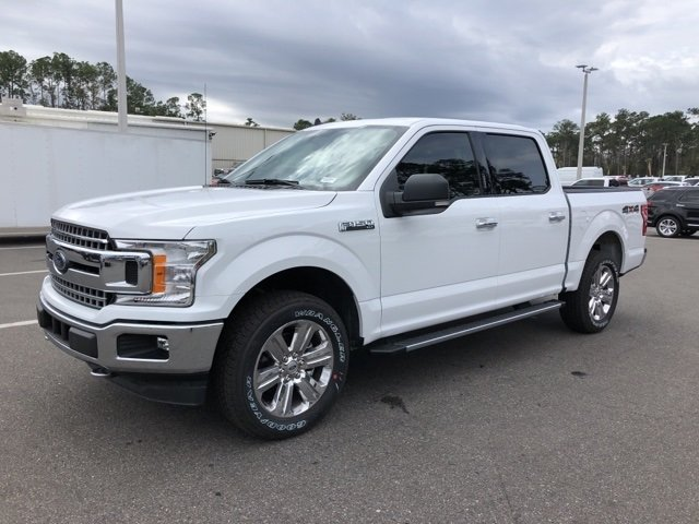 2019 Oxford White Ford F-150 XLT EcoBoost 2.7L V6 GTDi DOHC 24V Twin Turbocharged Engine Automatic 4X4 Truck 4 Door