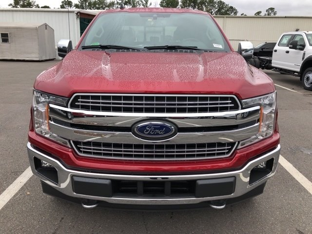 2019 Ruby Red Metallic Tinted Clearcoat Ford F-150 Lariat 4 Door Automatic Truck 4X4