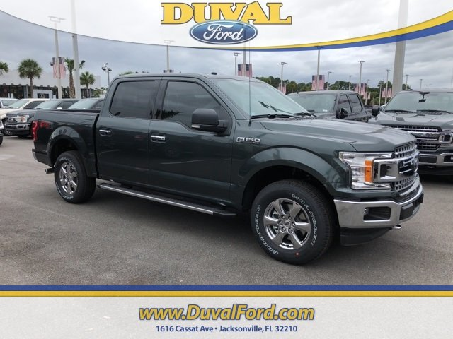 2018 Guard Metallic Ford F-150 XLT Automatic Truck 4 Door 4X4
