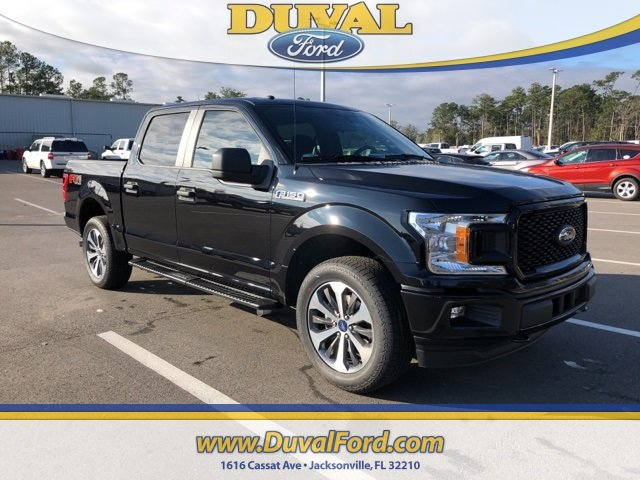 2019 Agate Black Metallic Ford F-150 XL 4 Door EcoBoost 2.7L V6 GTDi DOHC 24V Twin Turbocharged Engine 4X4