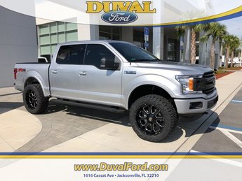 2018 Ingot Silver Metallic Ford F-150 XLT Truck EcoBoost 2.7L V6 GTDi DOHC 24V Twin Turbocharged Engine Automatic 4X4 4 Door