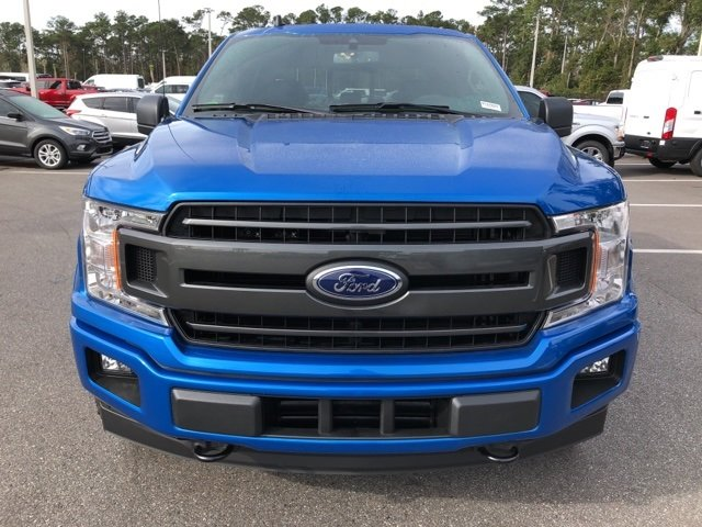 2019 Velocity Blue Metallic Ford F-150 XLT 4X4 4 Door Automatic Truck