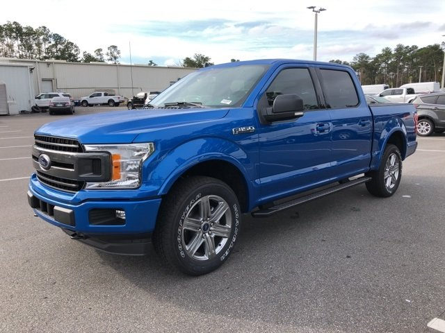 2019 Velocity Blue Metallic Ford F-150 XLT Truck Automatic 4 Door