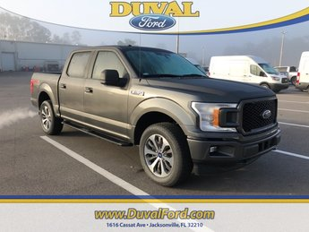2019 Ford F-150 XL 4 Door Truck Automatic EcoBoost 2.7L V6 GTDi DOHC 24V Twin Turbocharged Engine 4X4
