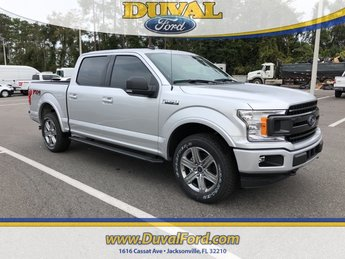 2019 Ingot Silver Metallic Ford F-150 XLT Automatic 4X4 4 Door Truck EcoBoost 2.7L V6 GTDi DOHC 24V Twin Turbocharged Engine