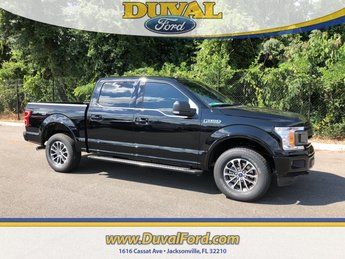 2018 Shadow Black Ford F-150 XLT 4 Door 4X4 Automatic EcoBoost 2.7L V6 GTDi DOHC 24V Twin Turbocharged Engine Truck