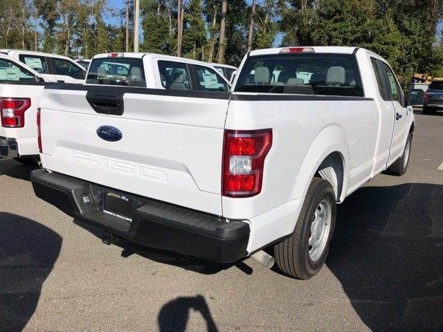 2019 Oxford White Ford F-150 XL Truck RWD 5.0L V8 Ti-VCT Engine 4 Door Automatic