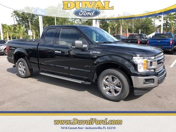 2018 Shadow Black Ford F-150 XLT Truck RWD 4 Door 3.3L V6 Ti-VCT 24V Engine Automatic