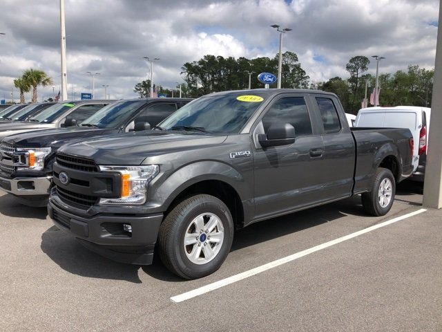 2018 Magnetic Metallic Ford F-150 XL Automatic 3.3L V6 Ti-VCT 24V Engine Truck RWD