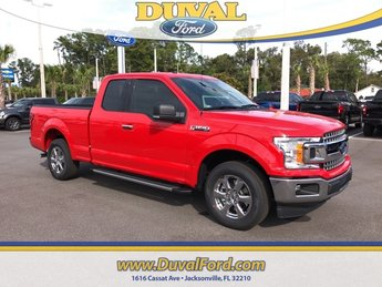 2018 Race Red Ford F-150 XLT 3.3L V6 Ti-VCT 24V Engine RWD 4 Door Truck Automatic