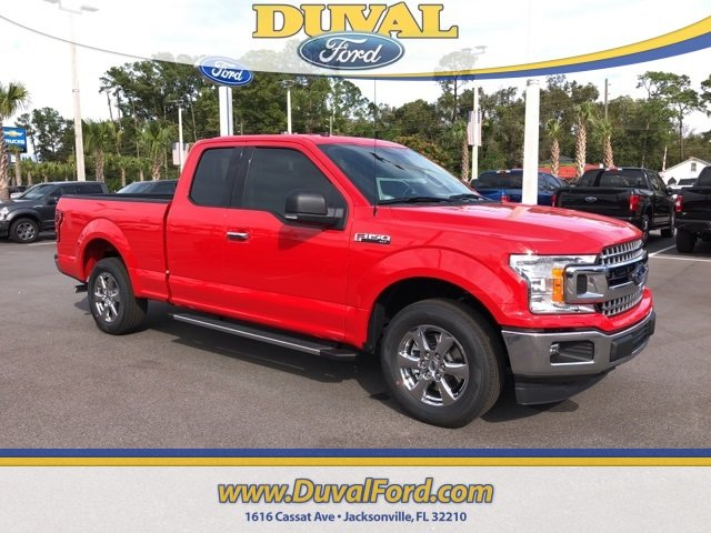 2018 Race Red Ford F-150 XLT 3.3L V6 Ti-VCT 24V Engine 4 Door Truck Automatic