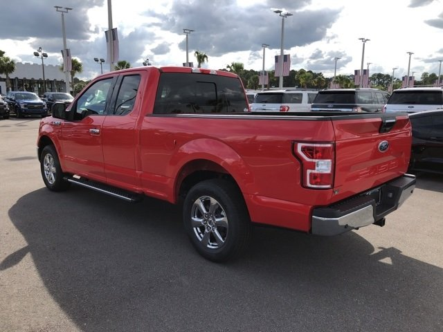 2018 Race Red Ford F-150 XLT Automatic Truck 3.3L V6 Ti-VCT 24V Engine