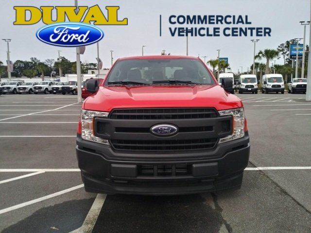 2018 Race Red Ford F-150 XL EcoBoost 2.7L V6 GTDi DOHC 24V Twin Turbocharged Engine RWD Truck Automatic