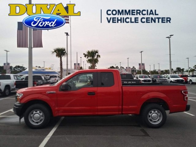 2018 Race Red Ford F-150 XL Automatic RWD EcoBoost 2.7L V6 GTDi DOHC 24V Twin Turbocharged Engine Truck