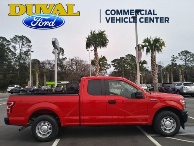 2018 Race Red Ford F-150 XL EcoBoost 2.7L V6 GTDi DOHC 24V Twin Turbocharged Engine Truck RWD 4 Door Automatic