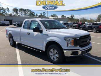 2019 Oxford White Ford F-150 XL RWD Automatic Truck EcoBoost 2.7L V6 GTDi DOHC 24V Twin Turbocharged Engine 4 Door