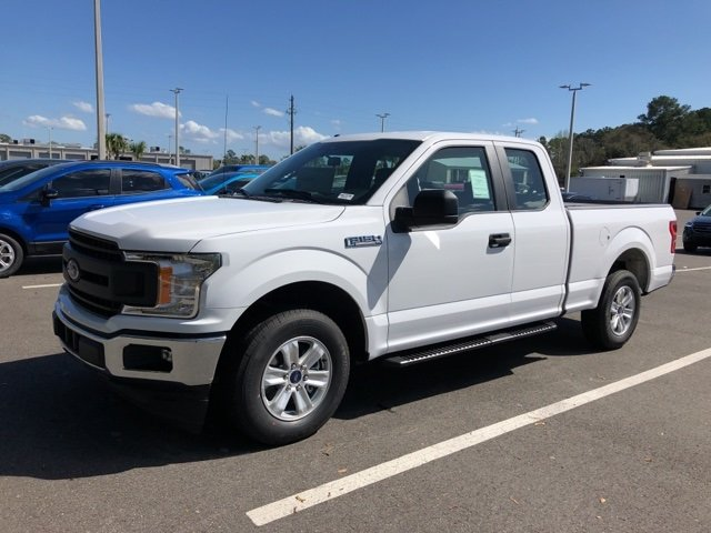 2019 Oxford White Ford F-150 XL EcoBoost 2.7L V6 GTDi DOHC 24V Twin Turbocharged Engine Truck RWD 4 Door Automatic