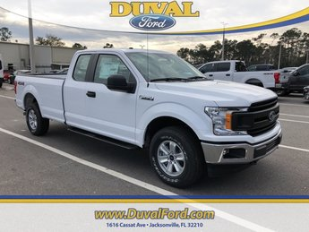 2019 Oxford White Ford F-150 XL Truck 4X4 4 Door
