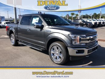 2018 Magnetic Metallic Ford F-150 Lariat 4X4 Truck 3.0L Diesel Turbocharged Engine Automatic 4 Door
