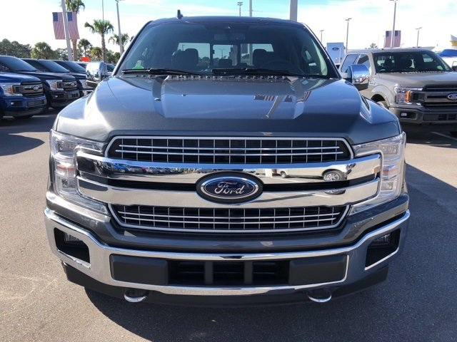 2018 Magnetic Metallic Ford F-150 Lariat Automatic 4 Door 3.0L Diesel Turbocharged Engine